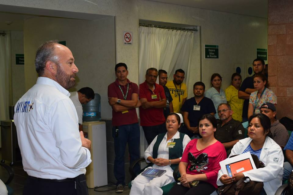 Encabezan Reunión Informativa en UMF No.19, Mezcales