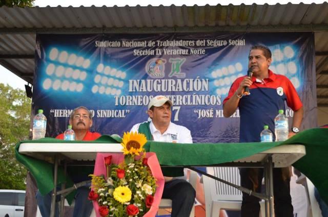 Inauguran torneo Interclínico