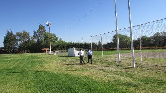 Realizan recorrido por el Deportivo Tapias