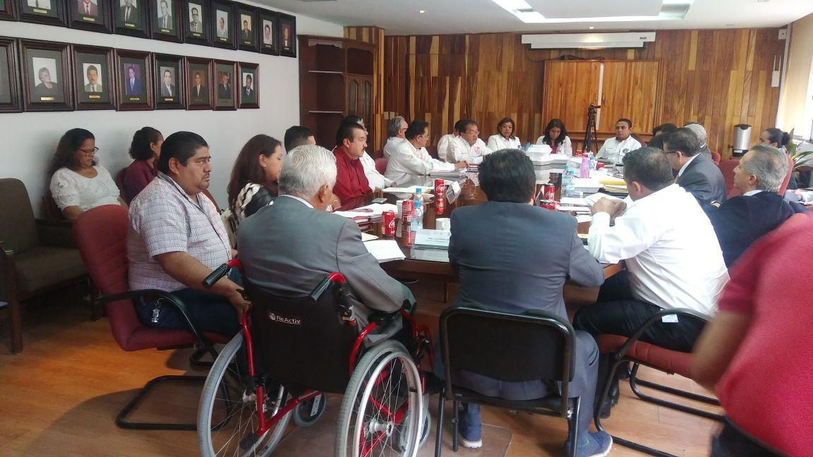 Reunión de trabajo con autoridades del IMSS
