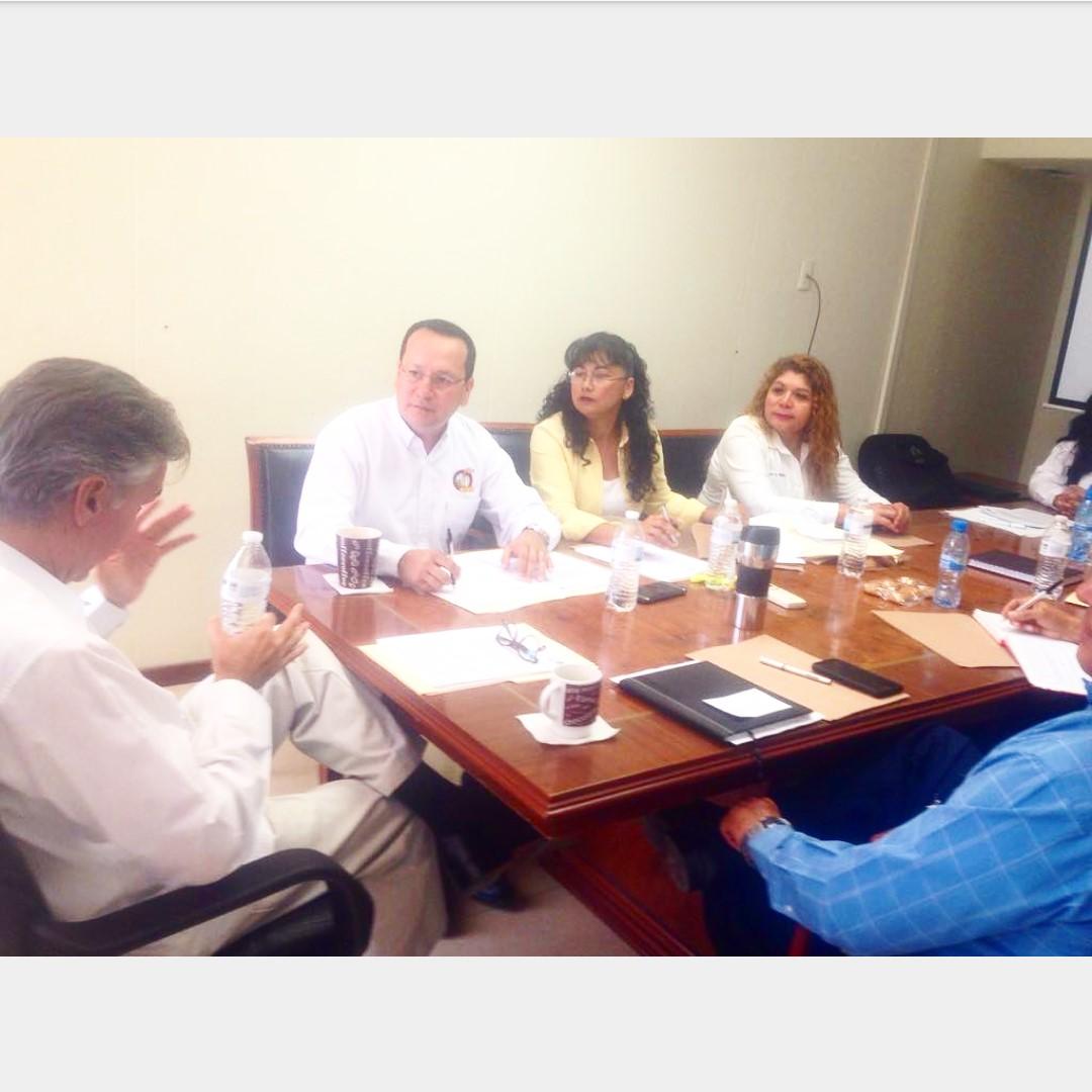 Reunión de trabajo con el Delegado del IMSS en Sinaloa