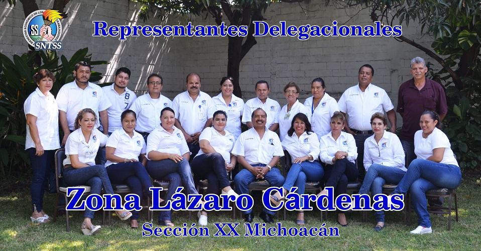Reunión de trabajo con representantes delegacionales zona Lázaro Cárdenas